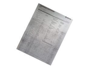 Проблема с печатью на аппаратах Kyocera серый фон